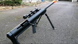 getlinkyoutube.com-Barrett M99 Review (Snow Wolf)