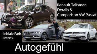 getlinkyoutube.com-Renault Talisman FULL test drive REVIEW & Comparison VW Passat B8 2016 all-new neuer