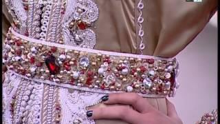 getlinkyoutube.com-صباحيات - Sabahiyat 2M: -Leila Hadioui- La nouvelle collection de la styliste Anouar Tayka