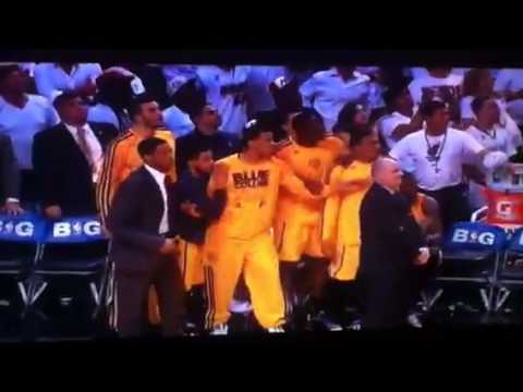 LeBron's OT buzzer-beater game-winner vs Pacers!
