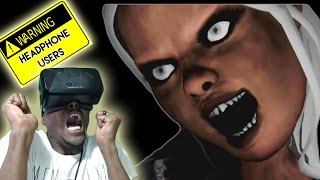 getlinkyoutube.com-SCREAMTAGE | Oculus Rift DK2 Reaction Compilation #5