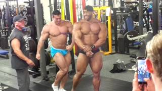 Johnny Doull + IFBB Pro Manuel Romero POSE DOWN
