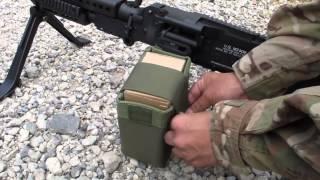 getlinkyoutube.com-S&T 電動ガン M240 MEDIUM MACHINE GUN Airsoft エアガン レビュー