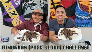 getlinkyoutube.com-BEST FILIPINO DINUGUAN (PORK BLOOD) CHALLENGE | FILIPINO CUISINE