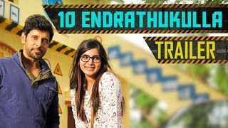 10 Endrathukulla - Official Trailer | Vikram, Samantha | D. Imman | Vijay Milton