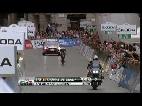 Giro d'Italia 2012 - Stage 21 - Final riders ITT