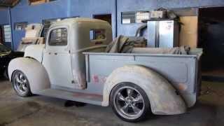 getlinkyoutube.com-1941 Ford Truck Marthina CLASSIC GARAGE