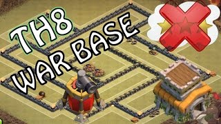 getlinkyoutube.com-TH8 WAR BASE ANTI 3 STELLE | Clash of Clans ITA