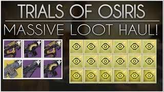 getlinkyoutube.com-Destiny - Massive Trials of Osiris Loot X3. 3 Flawless Lighthouse Runs, Drops, Packages & More!
