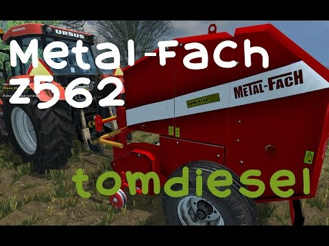 Metal-Fach Z562 Rundballenpresse - LS2013 [HD+]