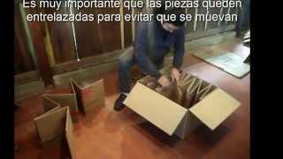 getlinkyoutube.com-Como hacer una cama para bebes con cartón
