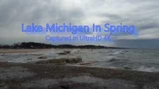 Lake Michigan in Spring UltraHD 4K width=
