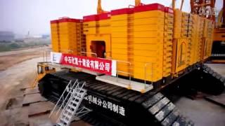 getlinkyoutube.com-徐工集团4000吨级履带式起重机 XCMG Group 4000-ton-level crawler crane, China