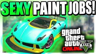 getlinkyoutube.com-GTA 5 Online Rare Paint Jobs - Eclipse, Ocean Blue,  & GUCCI Guilty (GTA 5 Secret Paint Jobs)