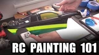 getlinkyoutube.com-RC Painting 101  --  Lexan body basics w/ spray paint