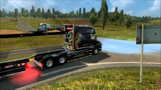 Ets 2  1.20.1s sound V8 Scania