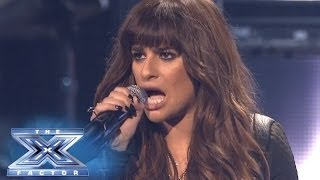 "getlinkyoutube.com-Finale: Lea Michele Performs ""Cannonball"" - THE X FACTOR USA 2013"