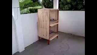 getlinkyoutube.com-Viveiro para criação caseira de codornas, galinhas, coelhos, etc