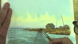getlinkyoutube.com-Watercolor Workshop Eps 14 The Marsh Shed