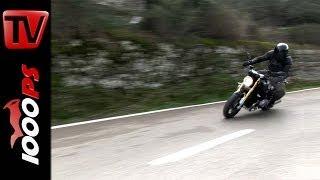 getlinkyoutube.com-BMW R nineT Test | Video Action, Onboard, Details