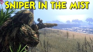 getlinkyoutube.com-SNIPER IN THE MIST! - Arma 3: Battle Royale (Wake Island)