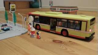 getlinkyoutube.com-RC BUS  SIMULATION  アオシマ 1/32 RC BUS 西東京バス走行