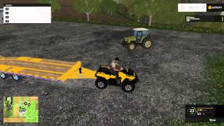 getlinkyoutube.com-Can Am Outlander and Money Cheat | Farming Simulator 15 Mod Showcase