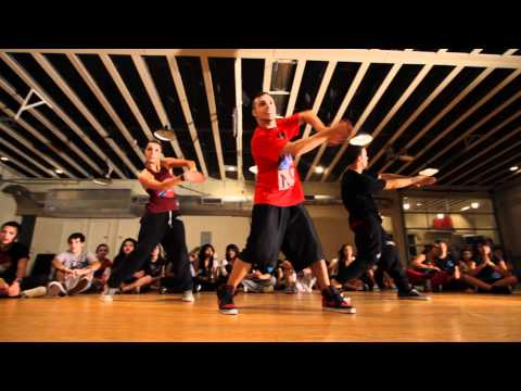 """IaMmE"" Crew on Planet Funk (Emilio Dosal ""Ride Like The Wind"" - with PF dancers Kat and Kevo)"