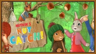 getlinkyoutube.com-Peter Rabbit Full Game Episode 1 - Peter Rabbit Games - Nutkin's Nut Catch! - Nick Jr