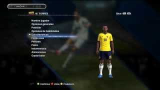 getlinkyoutube.com-Nuevas Faces Colombia Pes 2013 Pescolombiapatch