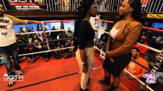 getlinkyoutube.com-BABS BUNNY & VAGUE presents QUEEN OF THE RING MS MURK vs KARMA KANE (REMATCH)