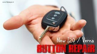 getlinkyoutube.com-Hyundai I20 Flip Key Button Repair