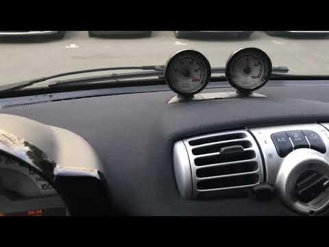 Тест на максимальный пробег на одном заряде электромобиля Smart ED 2013