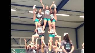 getlinkyoutube.com-Dolphins Allstars Cheerleader Krefeld - Season 2013 - Can't hold us
