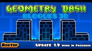getlinkyoutube.com-Geometry Dash || Como hacer Objetos 3D Bloques y rampas