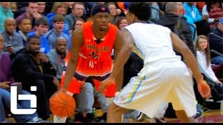 getlinkyoutube.com-#1 Ranked SG Malik Newman Was UNSTOPPABLE At Mustang Madness!