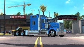 getlinkyoutube.com-American Truck Simulator Mega sound pack for W900 by SCS