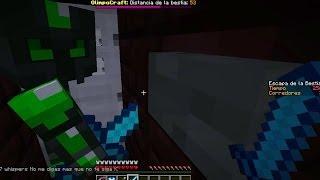"""getlinkyoutube.com-Ay! Que Me Pierdo!! - """"Escapa de la Bestia"""" #7 - Minecraft Olimpocraft Server"""