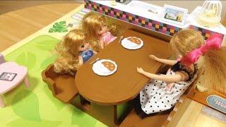 getlinkyoutube.com-リカちゃん おしゃべりスマートハウス / Spacious and fun! Talking Licca-chan Smart House!