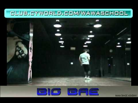 WAWA DANCE ACADEMY BIGBANG SPECIAL BLUE & LOVE DUST DANCE STEP MIRRORED MODE