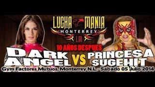 getlinkyoutube.com-Dark angel VS Princesa Sugehit Gym factores Muteos Monterrey