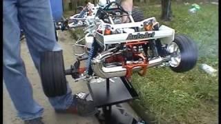 getlinkyoutube.com-Hpi Baja 5bSS ultra-wider start up of 29cc billet engine with v.2 dom silenced pipe