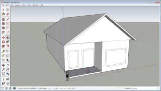 getlinkyoutube.com-Sketchup Fast 3D House Tutorial (Basic)