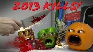 Annoying Orange - 2013 Kills Montage and Marshmallow Announcement