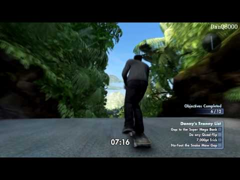 Skate 3: Hawaiian Dream DLC HD Gameplay Part 8 - Own The Lot (Tranny) 2/2