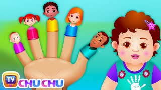 getlinkyoutube.com-The Finger Family Song | ChuChu TV Nursery Rhymes & Songs For Children