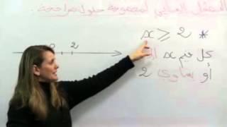 getlinkyoutube.com-التمثيل البياني لمجموعة حلول متراجحة 4 متوسط