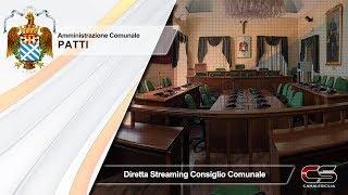 Patti - 30.03.2018 diretta streaming Consiglio Comunale - www.canalesicilia.it