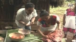 Cochinita Pibil, La Ruta del Sabor, Yaxuná Yaxcabá Yucatán