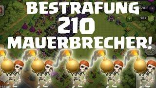 getlinkyoutube.com-210 MAUERBRECHER - DIE BESTRAFUNG! || CLASH OF CLANS || LP COC [Deutsch/German HD]